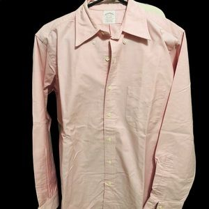 Long sleeves polo in light pink